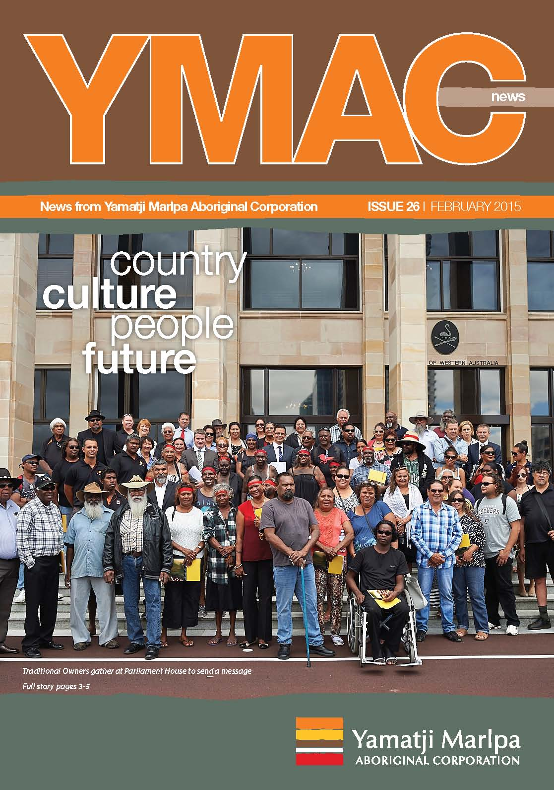 YMAC News issue 26 front cover