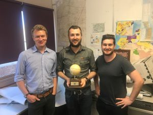 David Taft wins 2017 Clive Poole Spatial Excellence Award